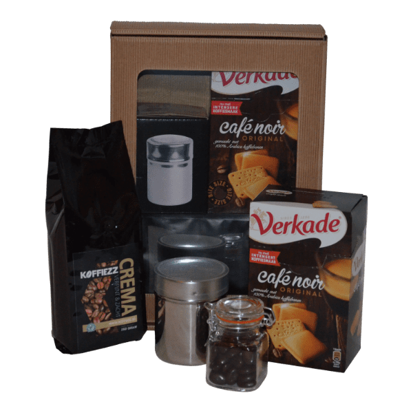Koffiepakket Premium op de koffie