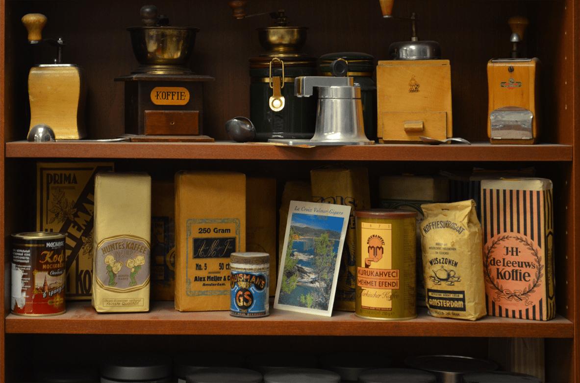 Koffie en de eerste webcam dat is andere koffie!