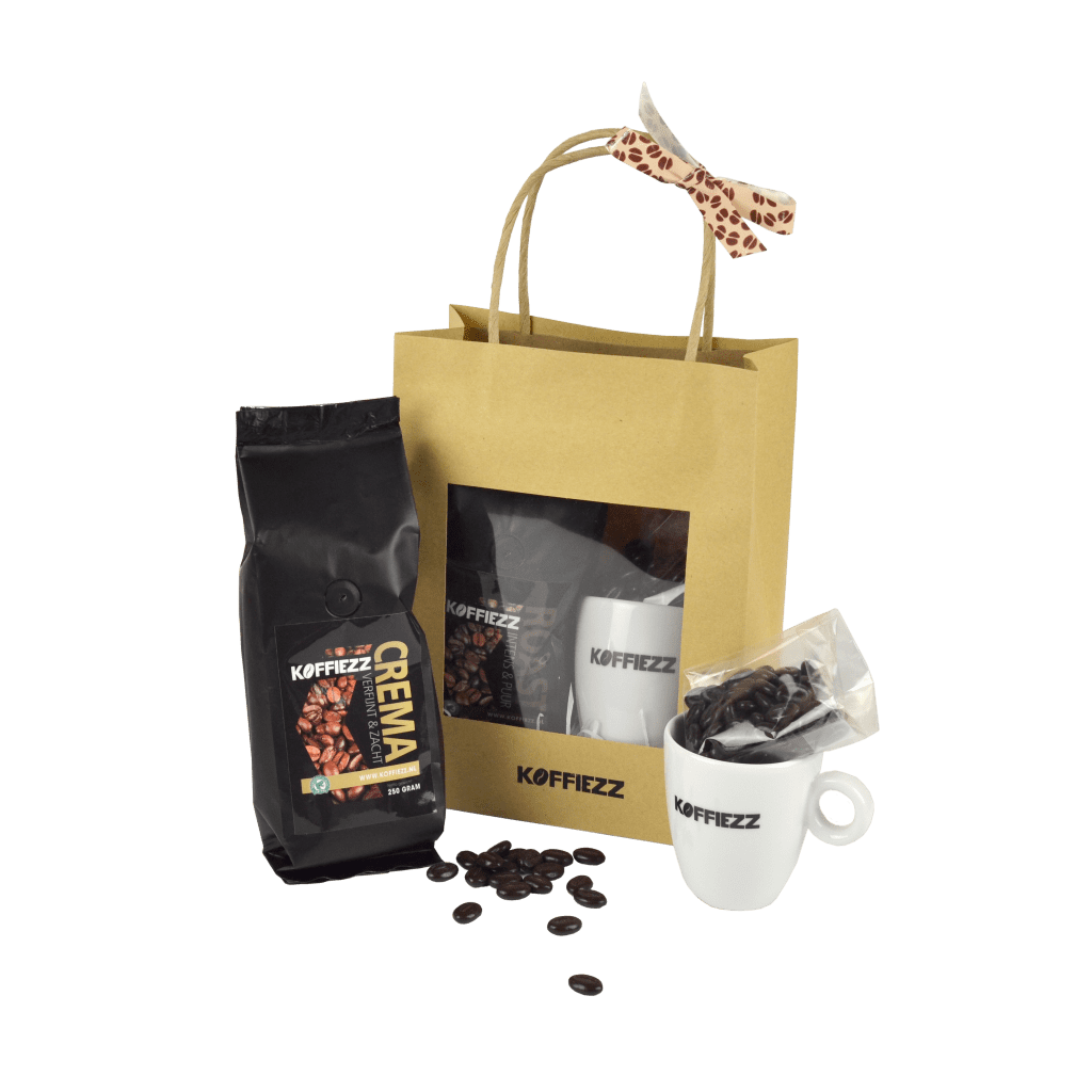koffiezz gifts pakke bola uitgepakt