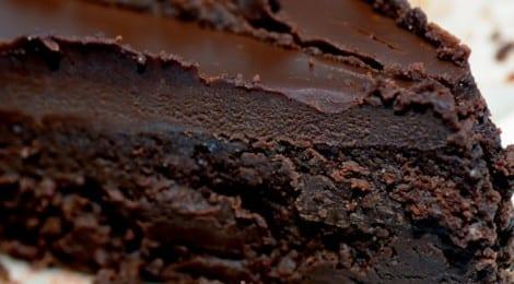 koffie chocolade taart