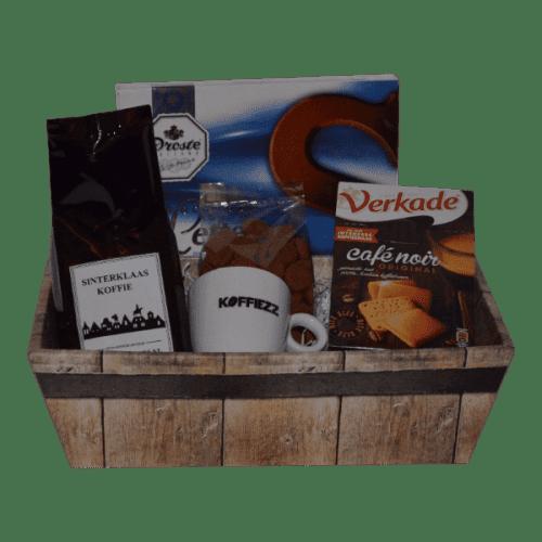 Sinterklaasgeschenk met koffie