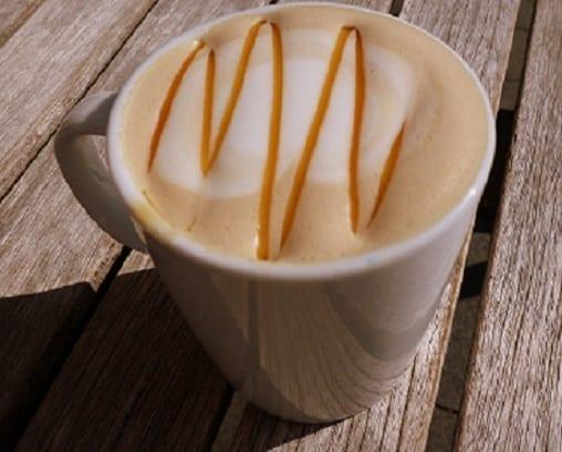 Koffie Karamel latte