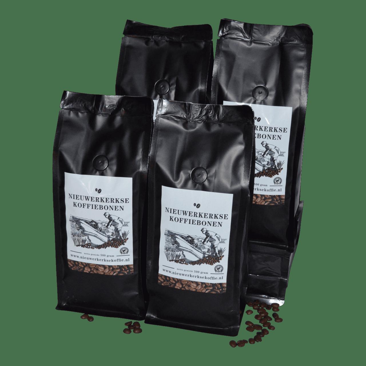 Nieuwerkerkse koffiebonen