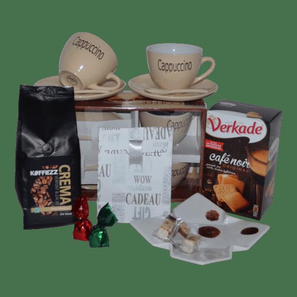 Koffie cadeaupakket leuk om te geven met kerst