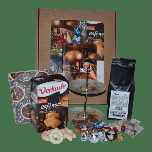Geschenken kerst en heerlijke koffie