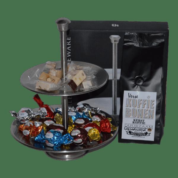 kerstkoffie-etagere-choco