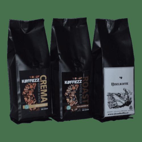 Koffie met smaak speciaal voor jou met liefde bezorgd