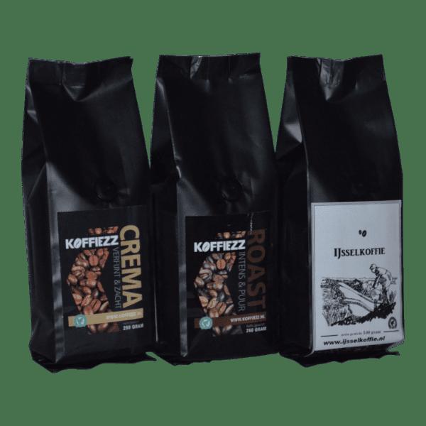 Koffiebonen proefpakket en hoe je goed kan bewaren