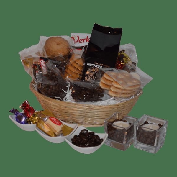 Koffie cadeauset met gecertificeerde bonen