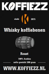 whisky koffiebonen