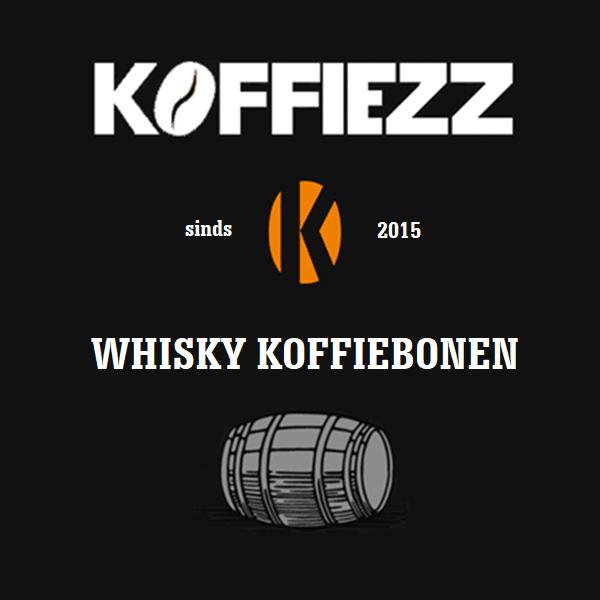 Bijzondere koffiebonen met whisky
