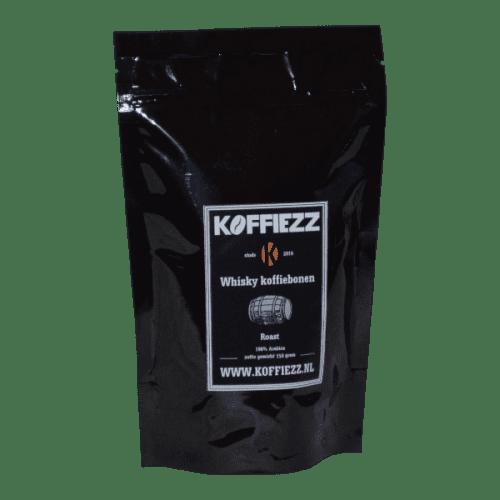 Bijzondere koffiebonen met whisky smaak