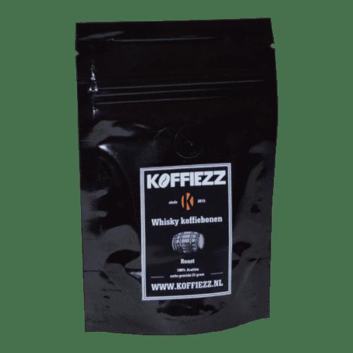Koffiebonen met een bijzondere smaak van whisky