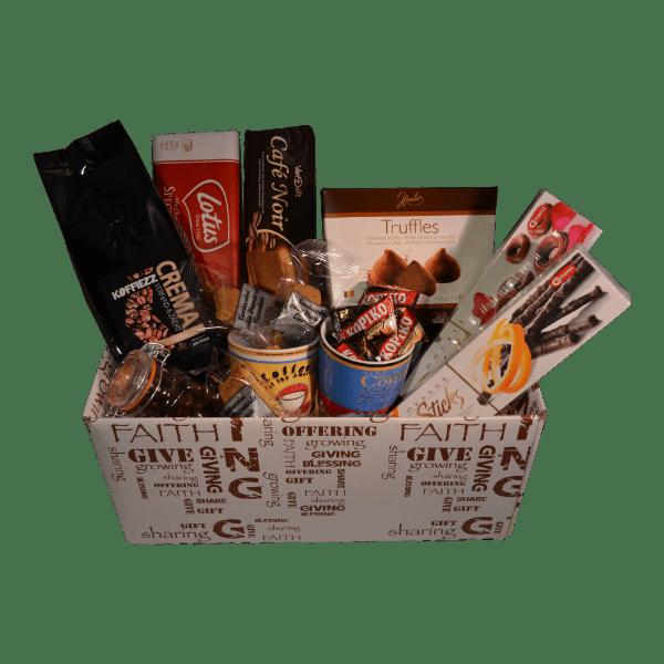 Zakelijk cadeau met koffie voor 1,5 miljard liefhebbers