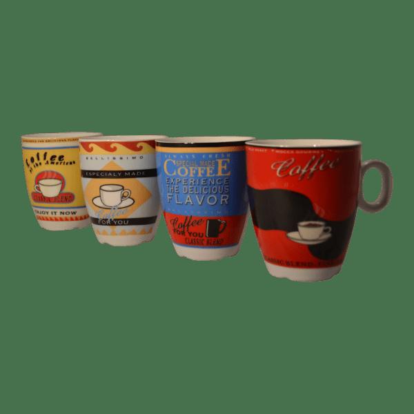 koffiemokjes kleurrijk