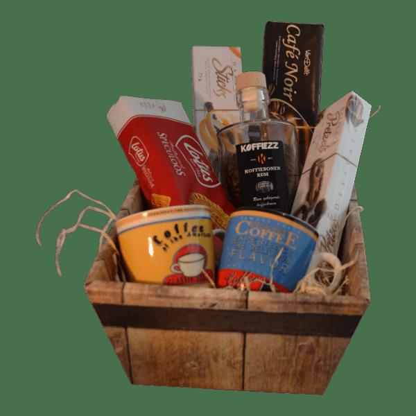 kerstpakketten met koffie voor relaxte medewerkers