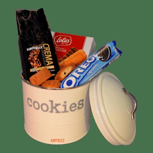 Koffie pakket `cookie