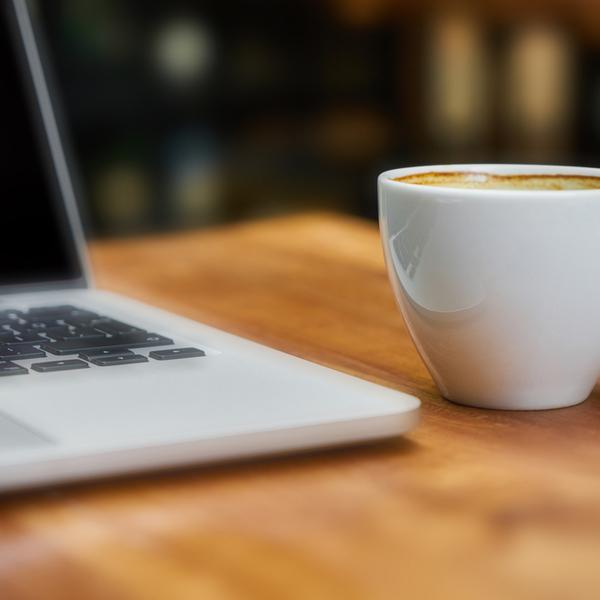 Digitaal koffiemoment voor de juiste balans met je collega`s