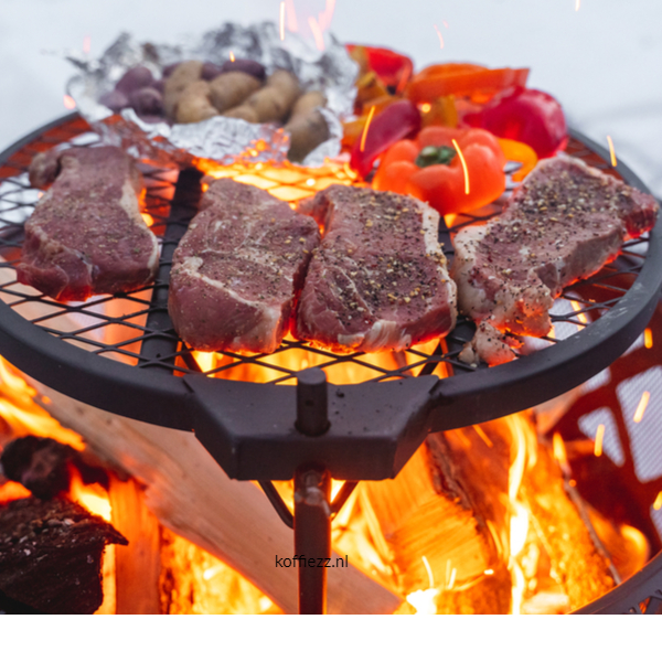 barbeque koffie rub