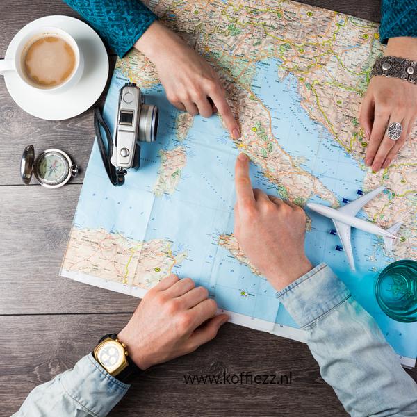 koffie mee op vakantie en voor de thuisblijvers